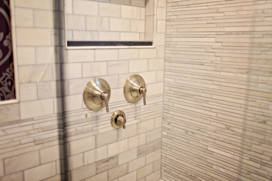 Custom Shower Control Valve Configuration