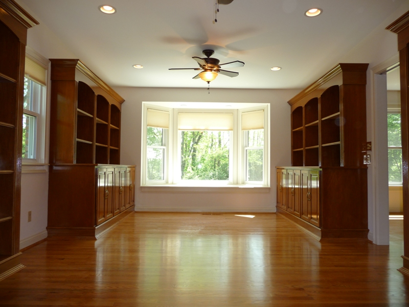 Stained-Wood-Cabinet-Bookshelves-Image-1