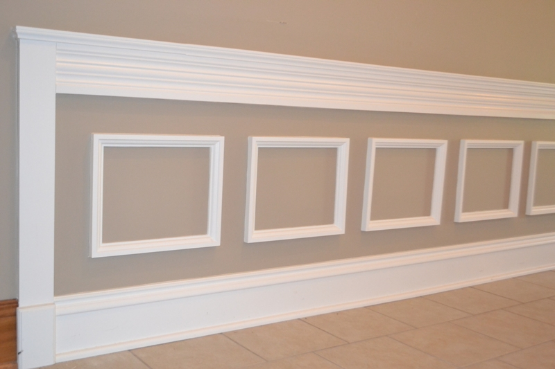 wainscoting image 1 - Moulding Designs For Walls