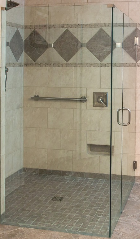 Curbless Shower Design Lou Vaughn Remodeling