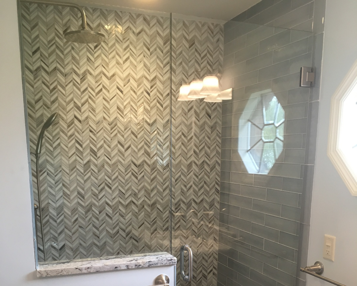 West Chester, Ohio bathroom remodel.